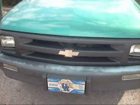 1994 Chevy S10- EV Electric Vehicle DONOR Vehicle - YouTube on