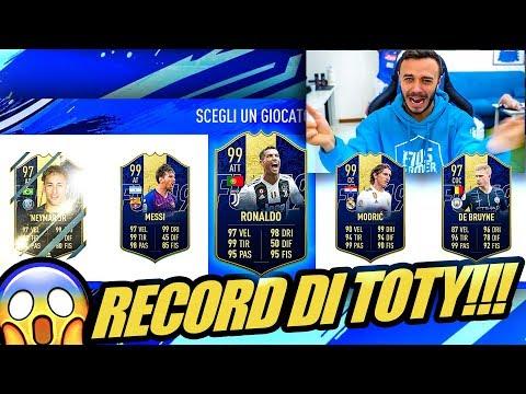 😱NON CI CREDO! RECORD MONDIALE DI TOTY!!! DRAFT CHALLENGE FIFA 19 ITA