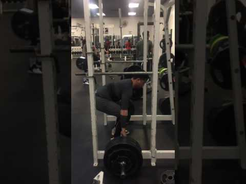 285lb x 1 (angle makes it look bad, but form was good!)