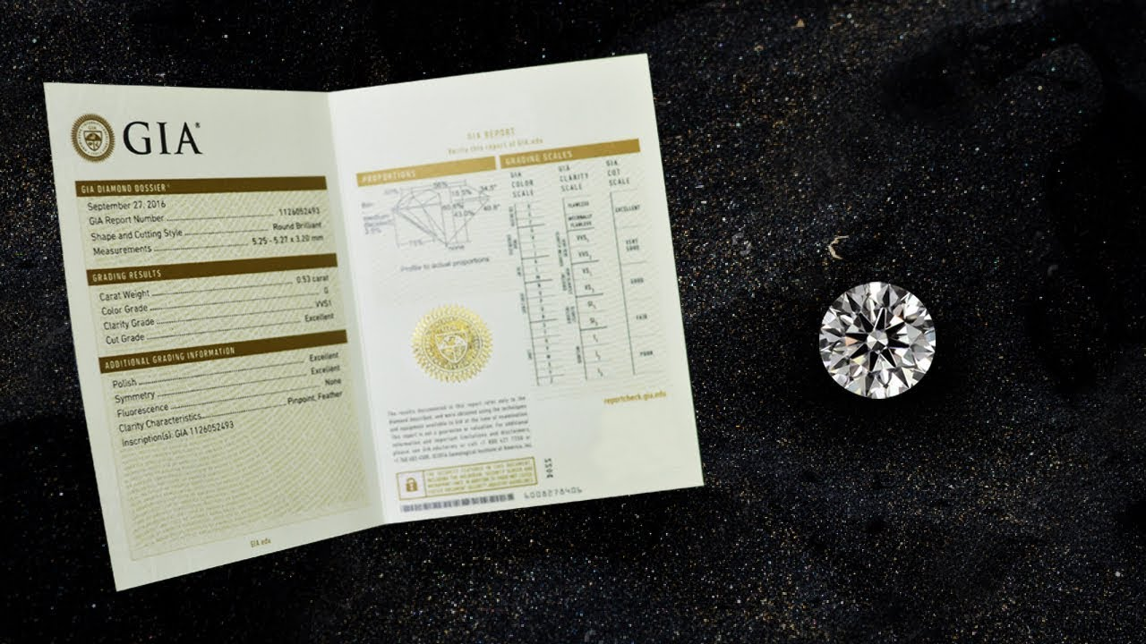How To Read A Gia Diamond Certificate Part 3 Youtube