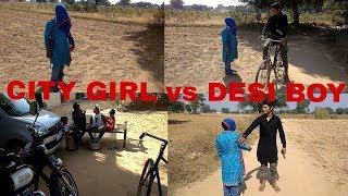 Desi boy //vs// city girl fanny vedio