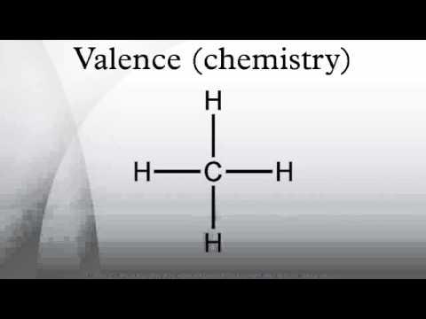 Valence (chemistry)