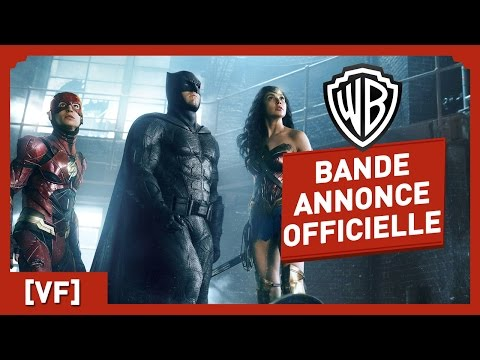 Justice League - Bande Annonce Officielle (VF)