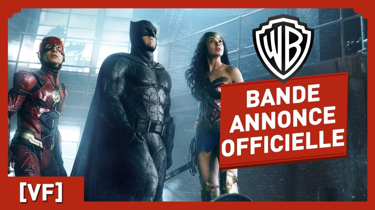 Justice League - Bande Annonce Officielle (VF)