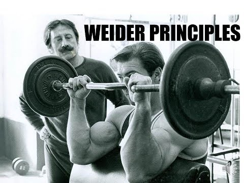 THE ORIGINAL WEIDER PRINCIPLES!! THE SILVER ERA FLUSHING METHOD FOR FASTER GAINS!!