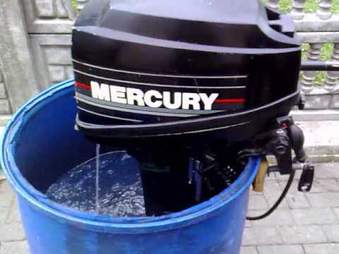 Mercury 8 hp outboard motor 1995r 2 stroke dwusuw youtube for 2 2 mercury outboard motor