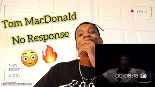 Tom MacDonald - No Response ( Official Music Video ) REACTION