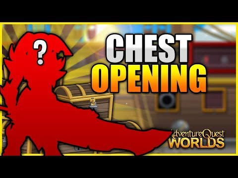 Chest Opening 1200 ACs Worth of Chests AQW AdventureQuest Worlds