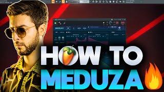 How To Make Music Like Meduza | Easy Tutorial for Beginners | FL Studio 20 + Free FLP