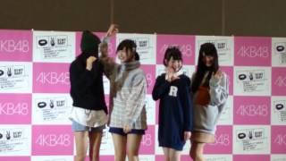 参加メンバー:北原里英、菅原りこ、佐藤栞、中野郁海.
