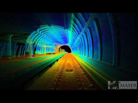 Maser Geospatial - Tunnel LiDAR Fly Through