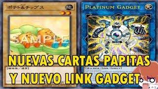 Yu-Gi-Oh! Nuevas Cartas Papitas y Nuevo Link Gadget - Potato & Chips - Platinum Gadget - TeamSetoX