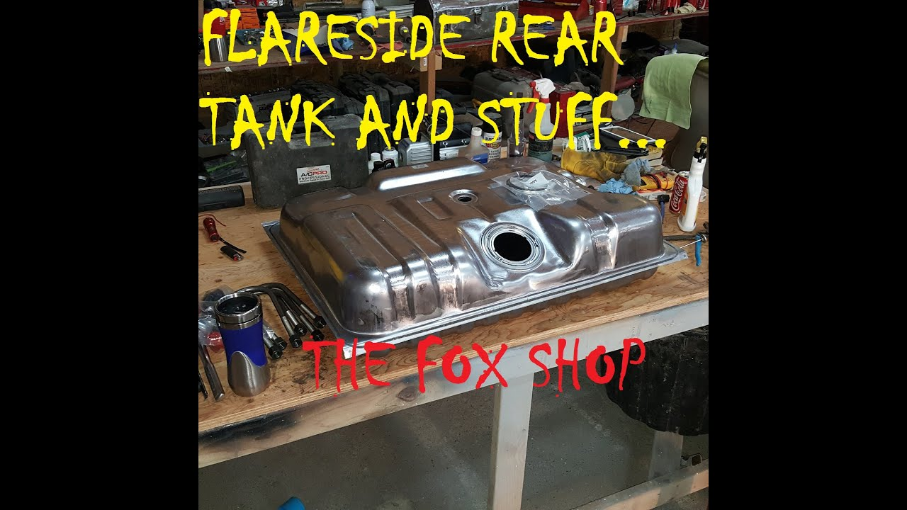 medium resolution of ford f150 rear fuel tank removal and install
