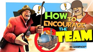 TF2: How to encourage the team [Voice Chat/Rage kid]