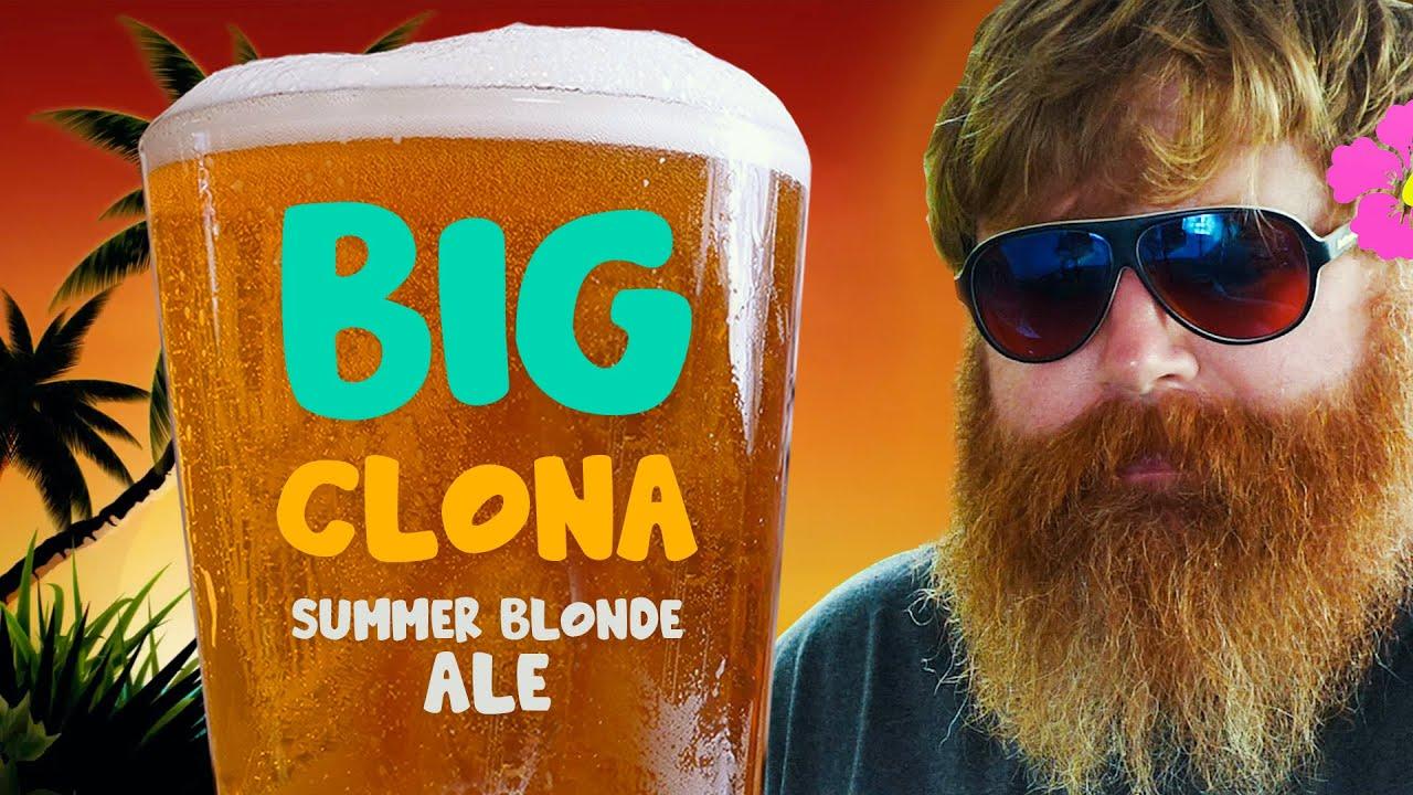 Big Clona Summer Blonde Ale | Homebrew Recipe