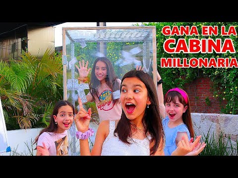 GANA EN LA CABINA MILLONARIA | Apple Watch, Outfit, $1,000.00? | TV Ana Emilia