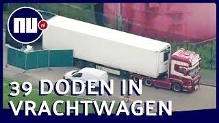 Britse politie onderzoekt 39 dode lichamen in vrachtwagen | NU.nl