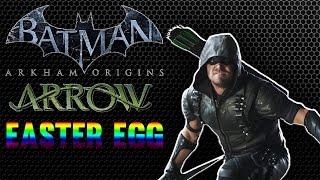 Easter Egg:Green Arrow easter egg in Batman: Arkham Origins
