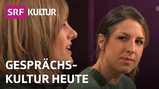 Laura de Weck und Romy Jaster: Wir müssen reden | SRF Sternstunde Philosophie