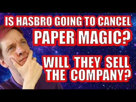 Magic To Be Sold To Another Company? Paper Magic Cancelled?