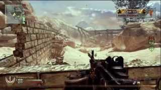 MW2 - Nuke With Every Gun - MG4 Last Second Nuke Clutch