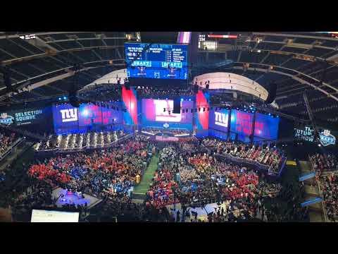 NFL Draft: Giants fans cheer Saquon Barkley pick