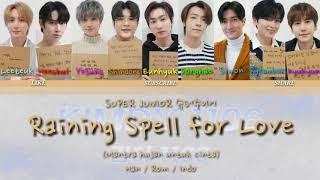 Download SUPER JUNIOR 슈퍼주니어 'Raining Spell for Love (Remake Ver.)' Color Coded Lyrics [Han/Rom/Indo]