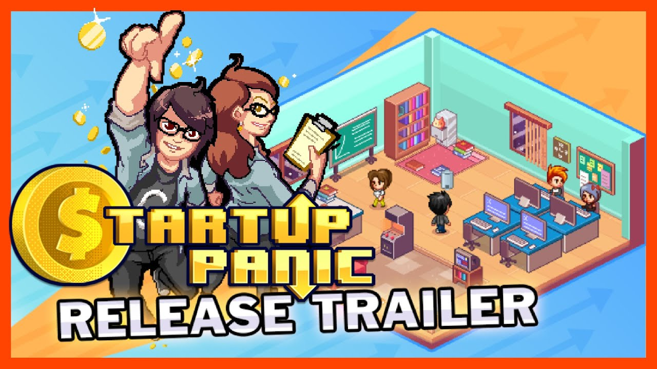 Startup Panic — Release Trailer | PC, IOS, Android