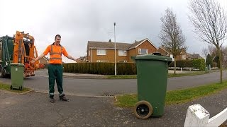 RC Bin/trash can Pranking on the Streets