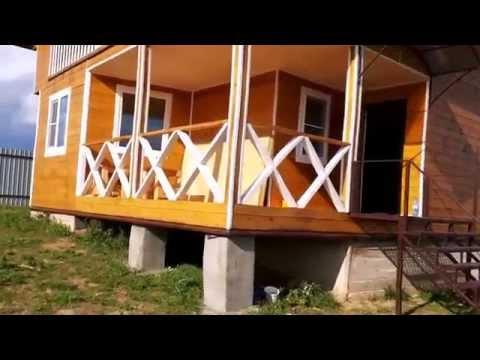 Новый дом под ключ, деревня на берегу водохранилища. Владимирская область, Кольчугино