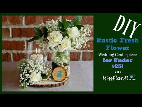 diy-rustic-fresh-flower-wedding-centerpiece-for-under-$25-|-weddings-on-a-budget-|-diy-tutorial
