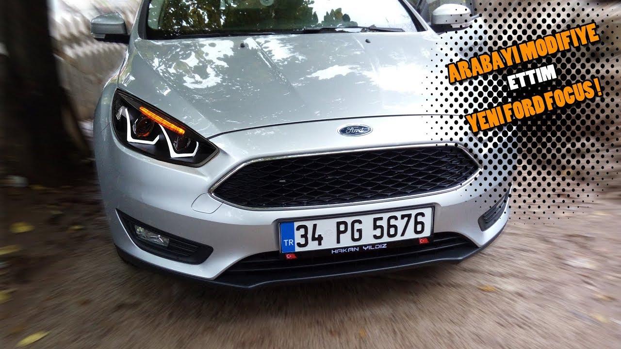 Arabamı Modifiye Ettim Efsane Oldu Yeni Ford Focus