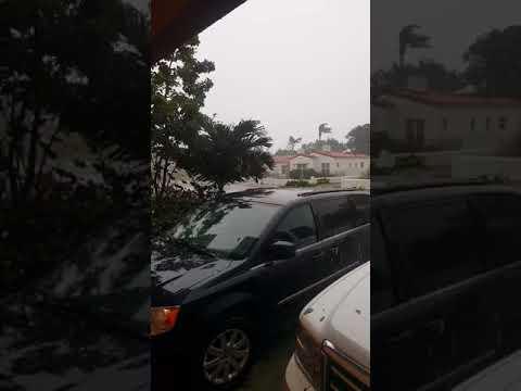 9 am winds in surfside fl .hurricane irma