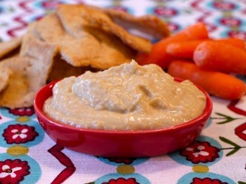 Super Easy Hummus - Healthy Snack Recipes - Weelicious