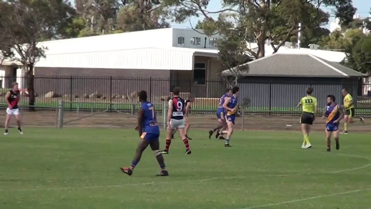 Rd 4   North Shore Goals vs Newtown Chilwell