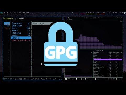 Basic File Encryption With GPG Key Pairs!