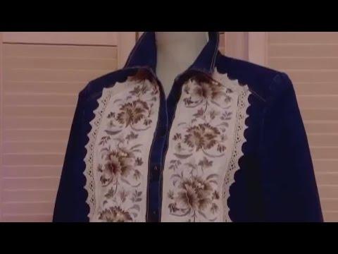 Декор джинсовой одежды. Идея украшения джинсовой одежды
