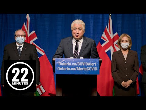 Doug Ford's COVID protocols are clear as mud | 22 Minutes