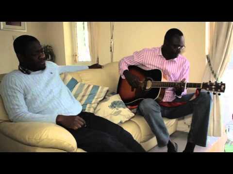 Fr Sylvain Akouala visite fr Christian Kalambaie a Kent
