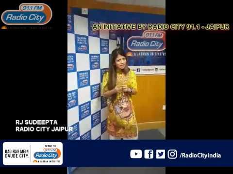 Rj Sudeepta Saying I am Sorry Environment ..Radio City Jaipur 91.1