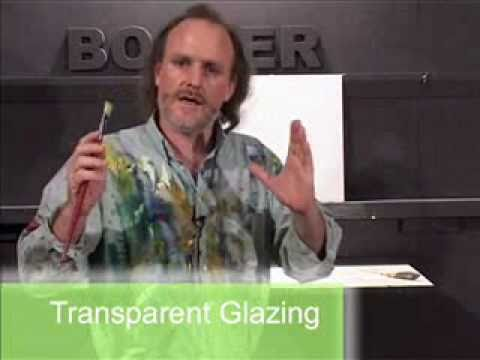 Transparent Glazing - advanced oil painting