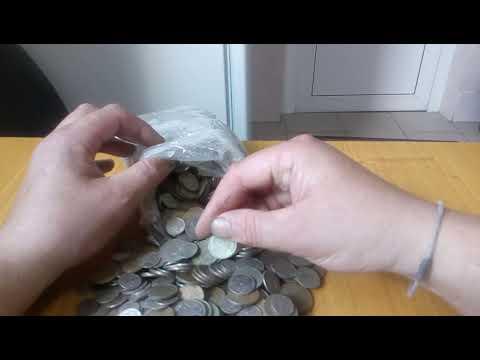 Четыре килограмма монет СССР и ГКЧП с аукциона Мешок