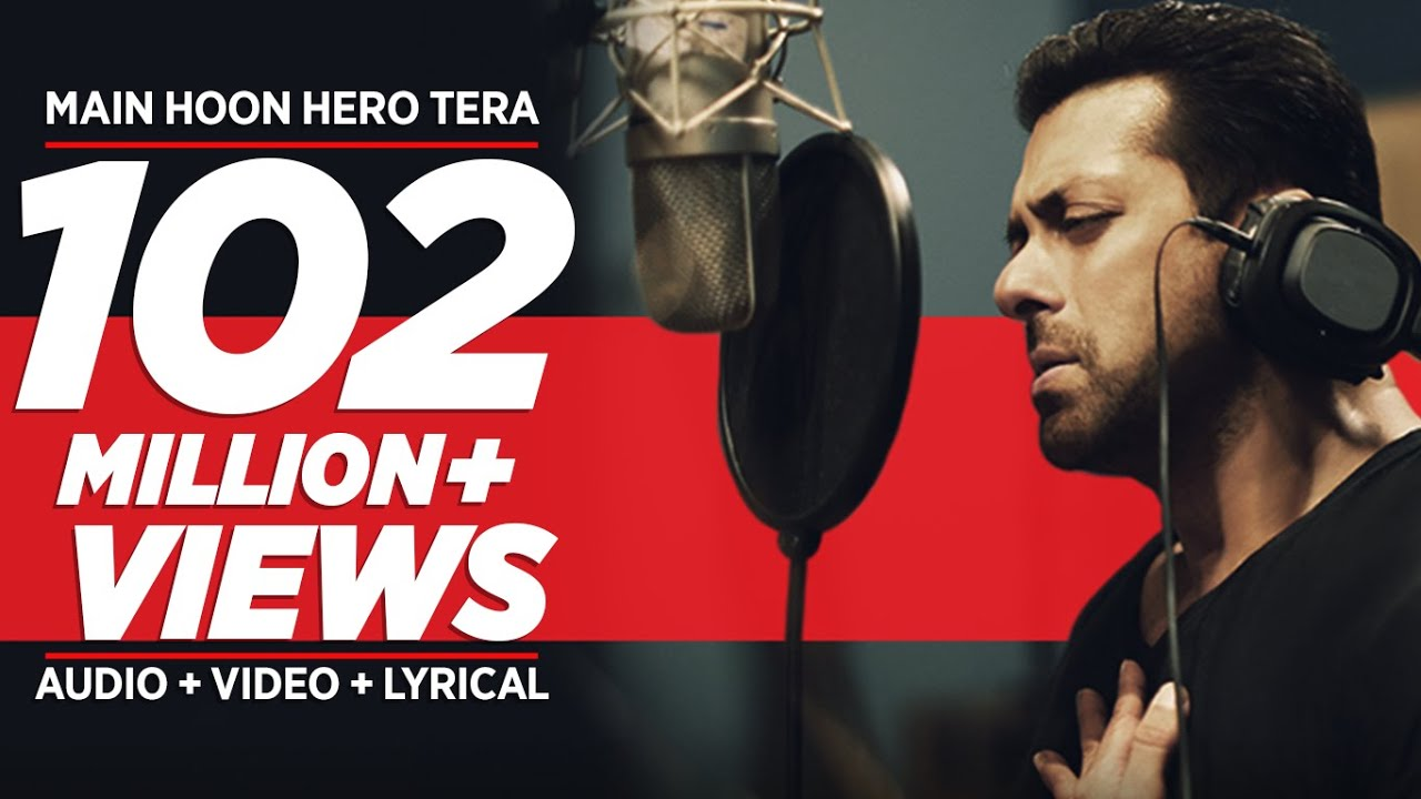 'Main Hoon Hero Tera' VIDEO Song - Salman Khan | Amaal Mallik | Hero | T-Series