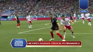 Highlights: Croacia vs Dinamarca
