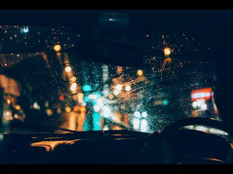 BTS Taehyung Singularity but you're driving in the rain + Window