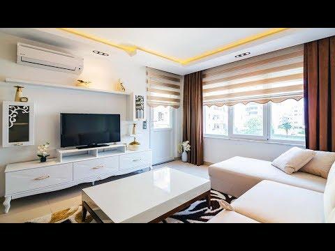 Квартира 1+1 в 200 м от моря, Махмутлар, Аланья, Турция