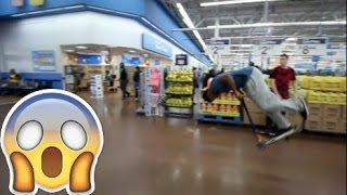 INSANE SCOOTER FRONTFLIP ( WALMART EDITION)