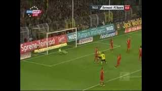 Borussia Bayern Lewandowski show!
