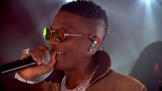 Wizkid's Performance at THISDAY/ARISE Group's Global Virtual Commemoration - Nigeria @ 60
