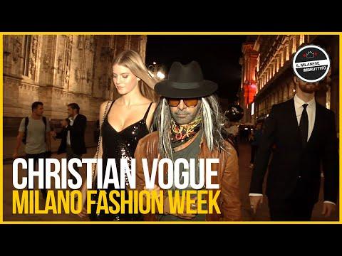 Christian Vogue alla Milano Fashion Week...